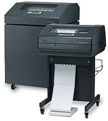 IBM 6500 Matrix Printer - 500 lpm to 2000 lpm
